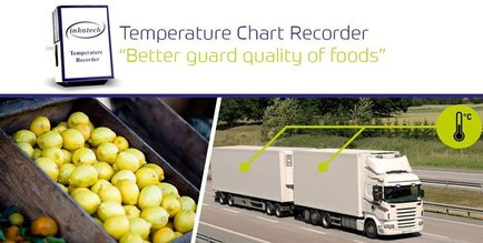 Graphic Temperature Recorder for shipment