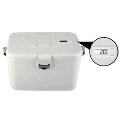 8L medical cool box with thermometer
