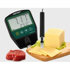 Meat and Cheese pH meter