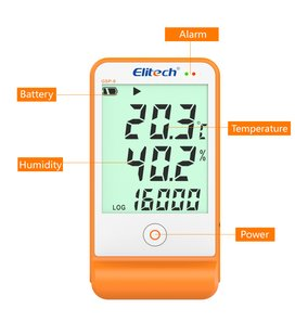 Elitech GSP6 temperature & humidity logger